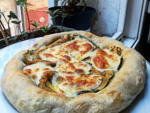 Pizza nuvola in padella
