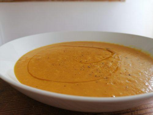Vellutata di carote arrosto