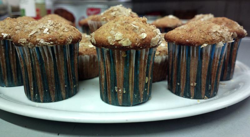 muffin ai fiocchi di avena