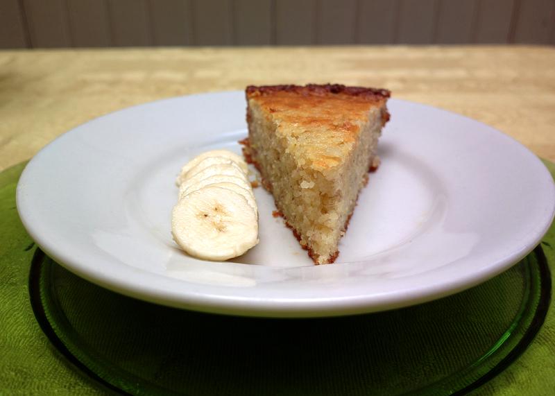 torta alla banana