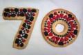 Crostata alla frutta a forma di numero (bis) - ricetta di Montersino