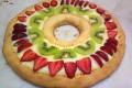 Crostate di crema e frutta a forma di numero (Montersino docet)