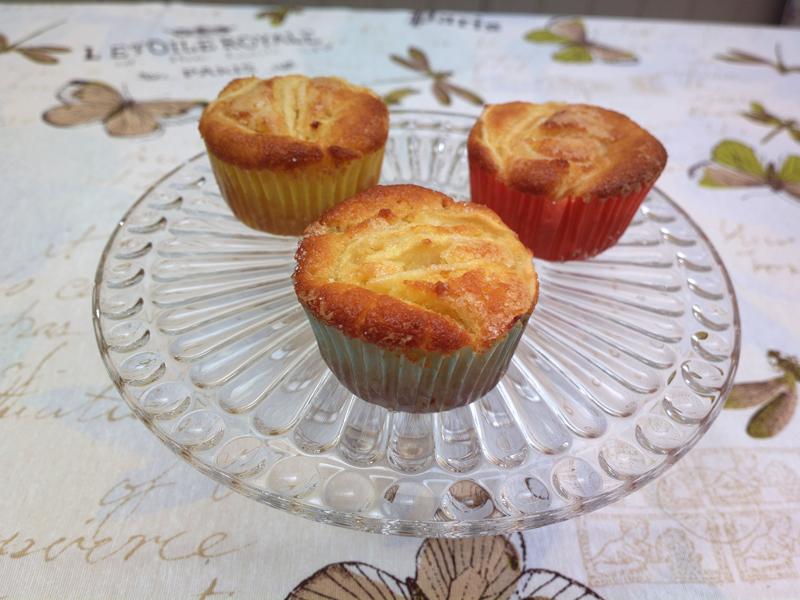 Muffin fior di mela