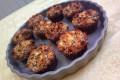 Muffin brownies con copertura croccante al cocco