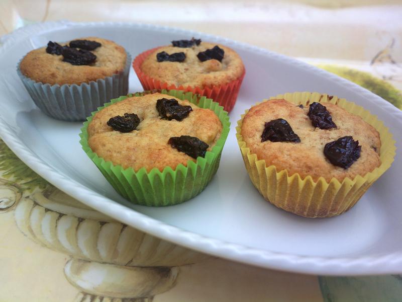 muffin con farina di kamut