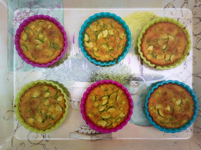Scarpaccia - Italian zucchini cake (from Tuscany)