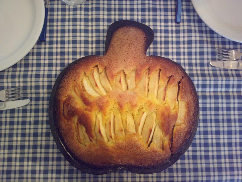 Melinda - la torta di mele a forma di mela
