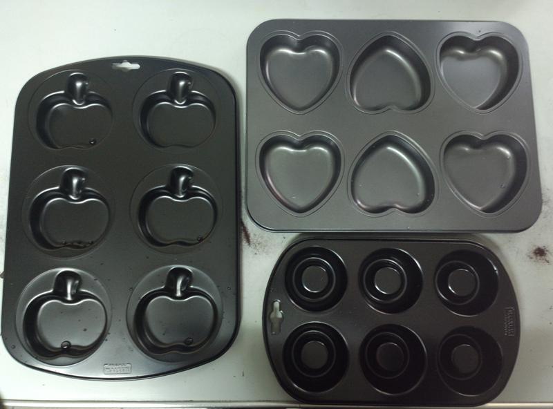 Stampi torta di mele e muffin