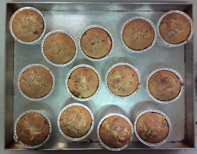 Delycatessen - Muffin alle mele, miele e cannella