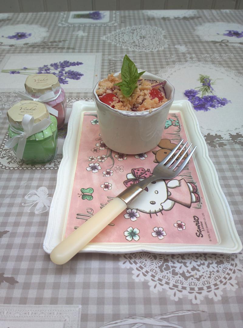 Panzanella di mia mamma (alla viareggina)