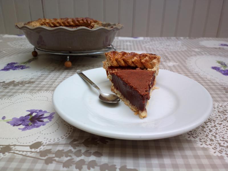 American Pie al cioccolato e latte condensato