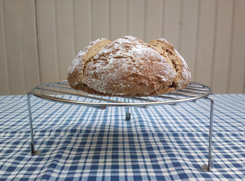 Soda bread alla farina di orzo e di avena