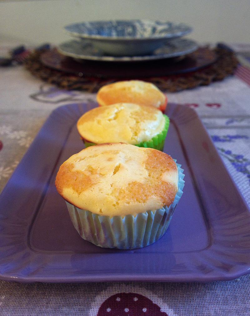 Muffin marmorizzati al cheesecakeMuffin marmorizzati al cheesecake