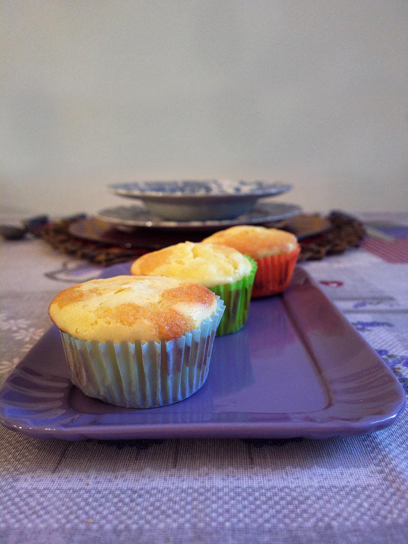 Muffin marmorizzati al cheesecake