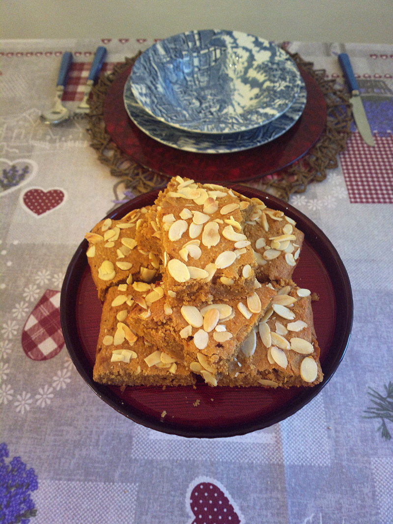 Apple gingerbread - Pan di zenzero alle mele