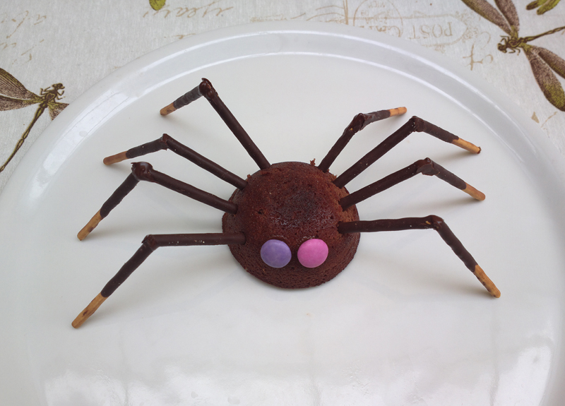 Spider brownies - dolcetti buffi per halloween
