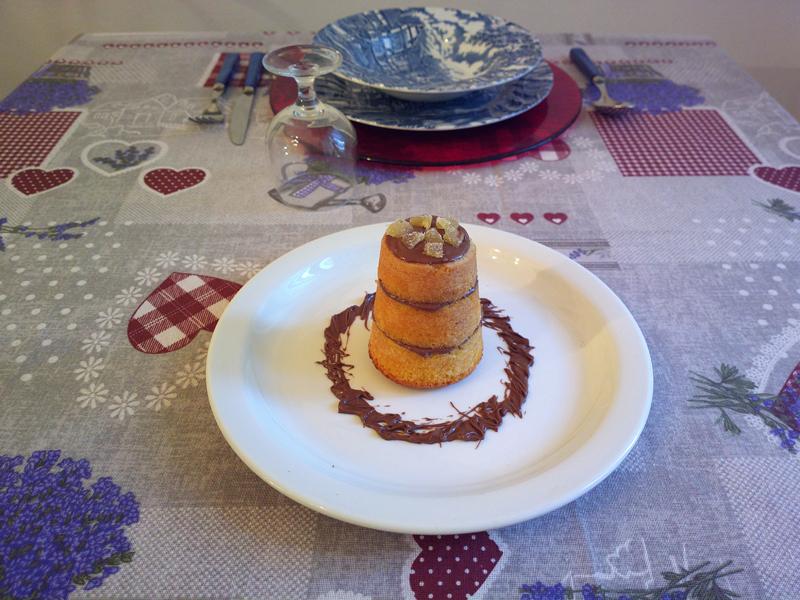Mini torrette alla nutella e zenzero