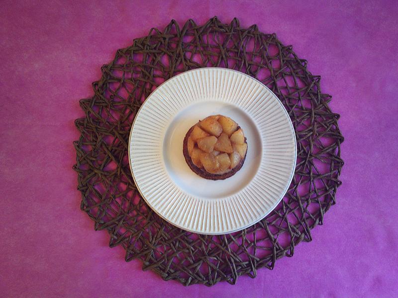Tortine cioccolato e pere rovesciate....ispirate a Eric Landlard