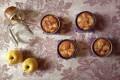 """""""50 sfumature di...mela"""" - Tortine alle mele con cuore al caramello salato"""