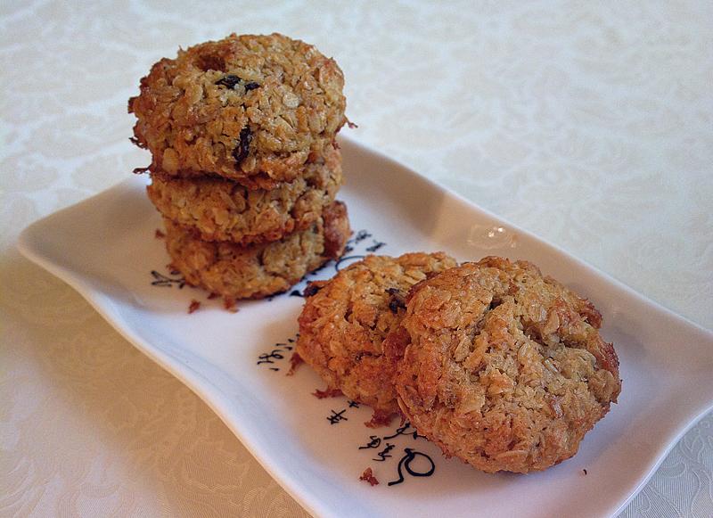 Cookies al muesli e cocco
