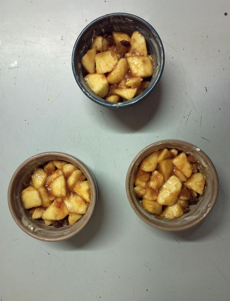 """""""50 sfumature di...mela - Crumble di mele speziati"""""""