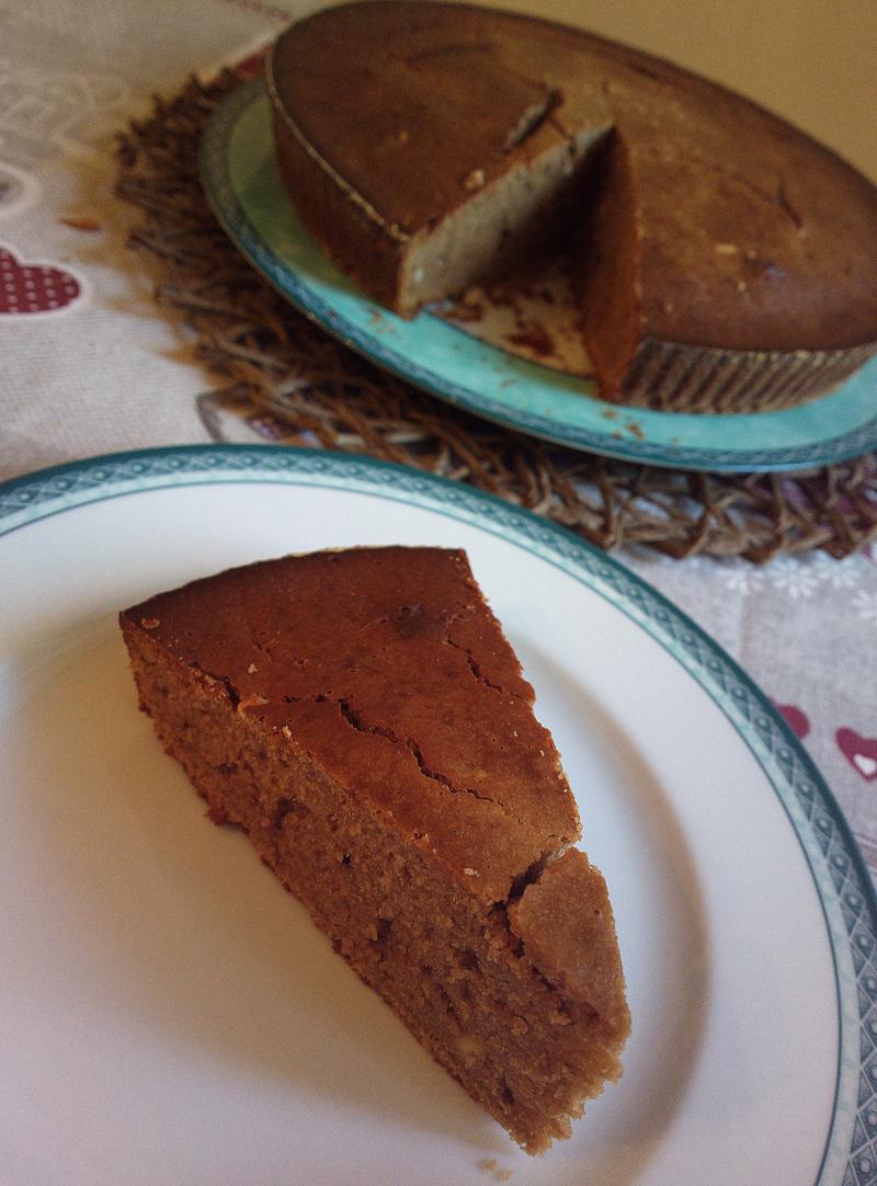 Fondente di farina di castagne - torta soffice toscana
