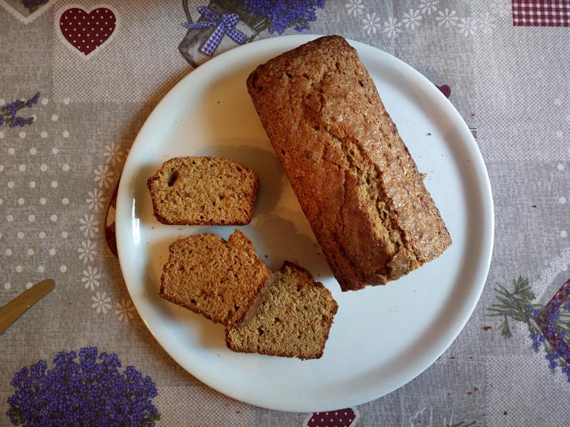 Pane dolce alla banana - ricetta inglese