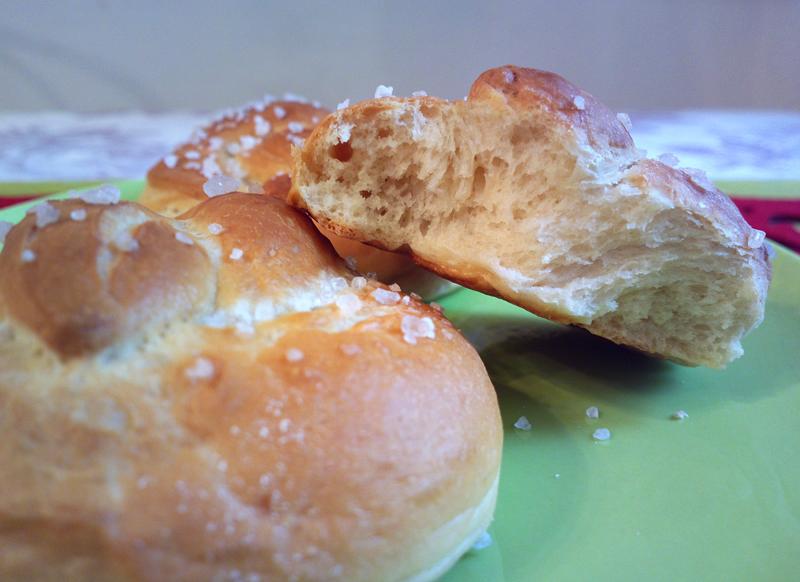 Pretzelini - Panini a forma di pretzel tedeschi