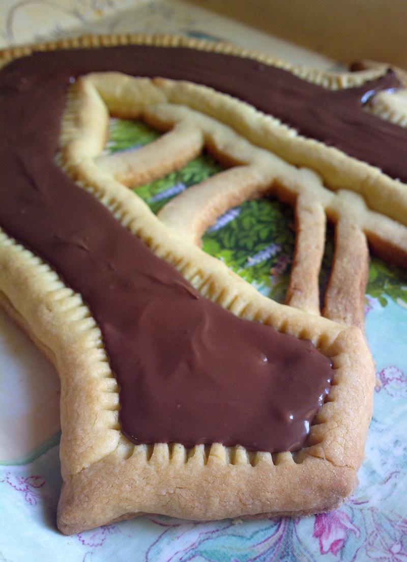V-shaped cake - Vintersorg cake