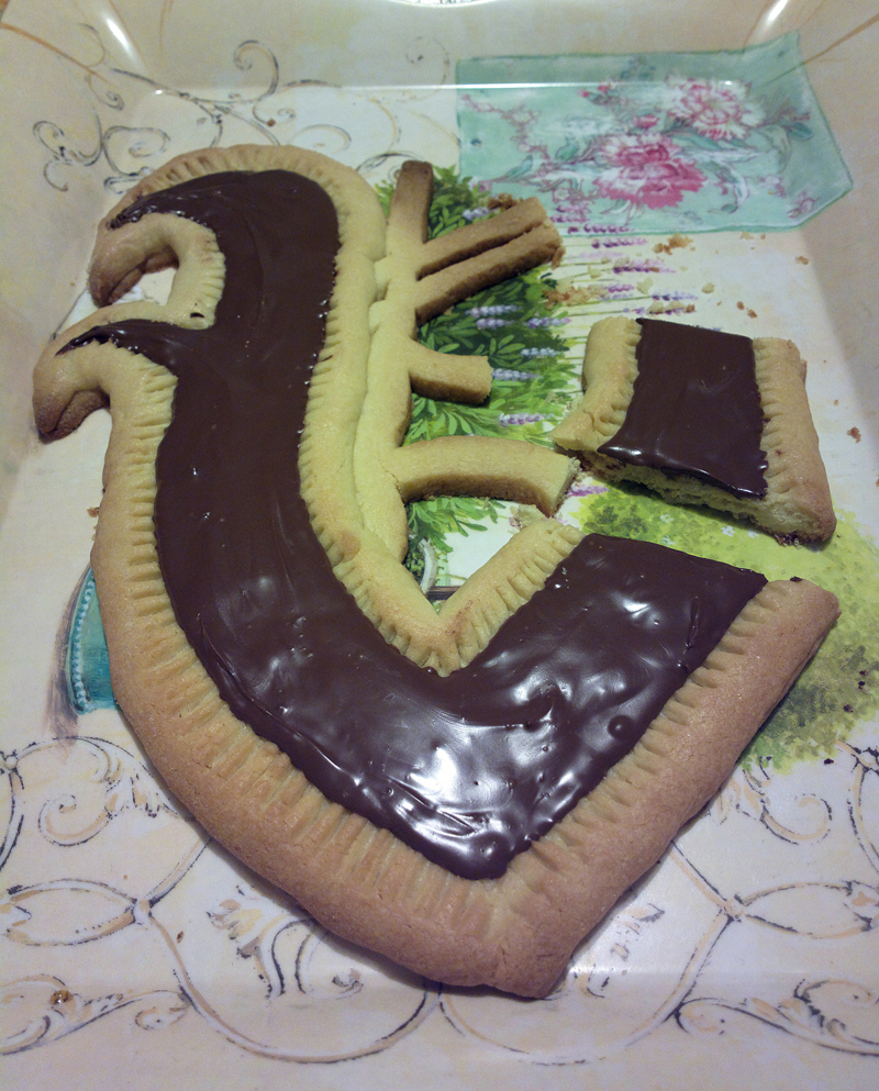 "Crostata a forma di V - aka ""torta Vintersorg"""