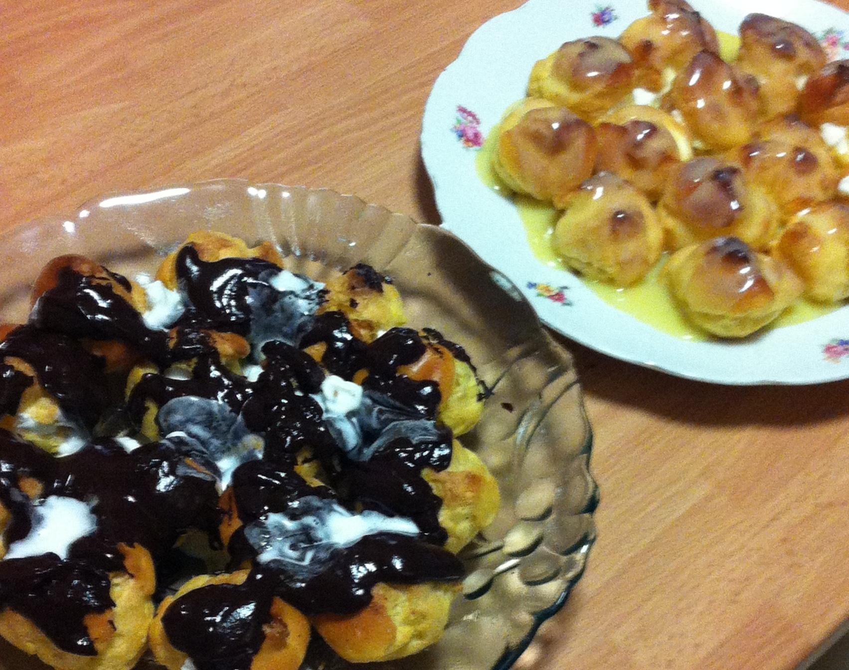 Foodblogger per un giorno - puntata n°3: Profiteroles ai due cioccolati by Lellina