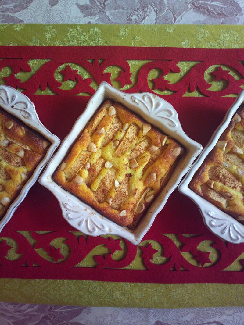 """""""50 sfumature di...mela"""" - Mini mattonelle di mele e ricotta"""
