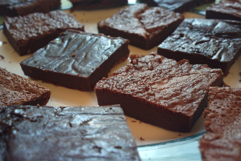 Two ingredient Nutella Brownies - Brownies alla Nutella senza glutine