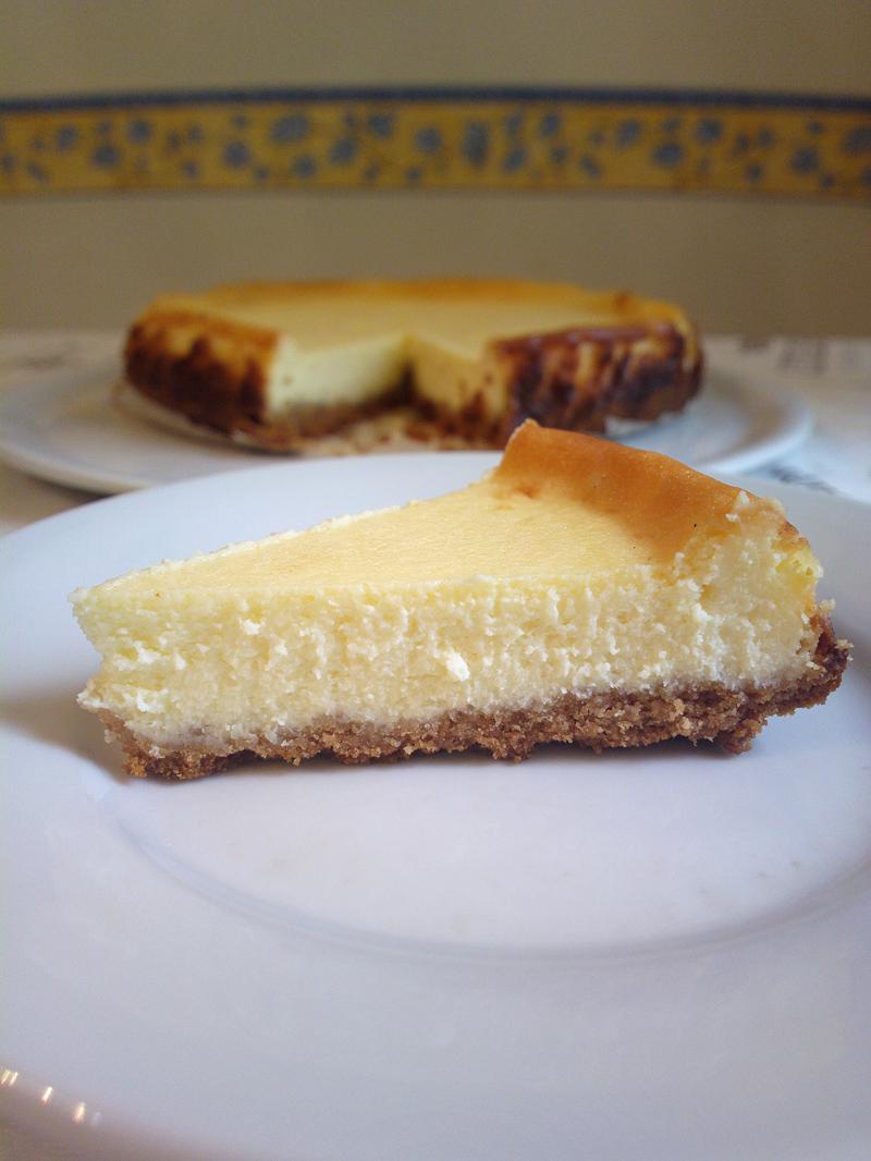 Cheesecake classico cremoso in style New York