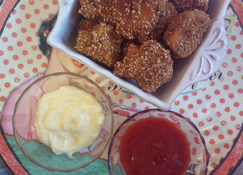 Fried chicken bites - Bocconcini di pollo in crosta croccante