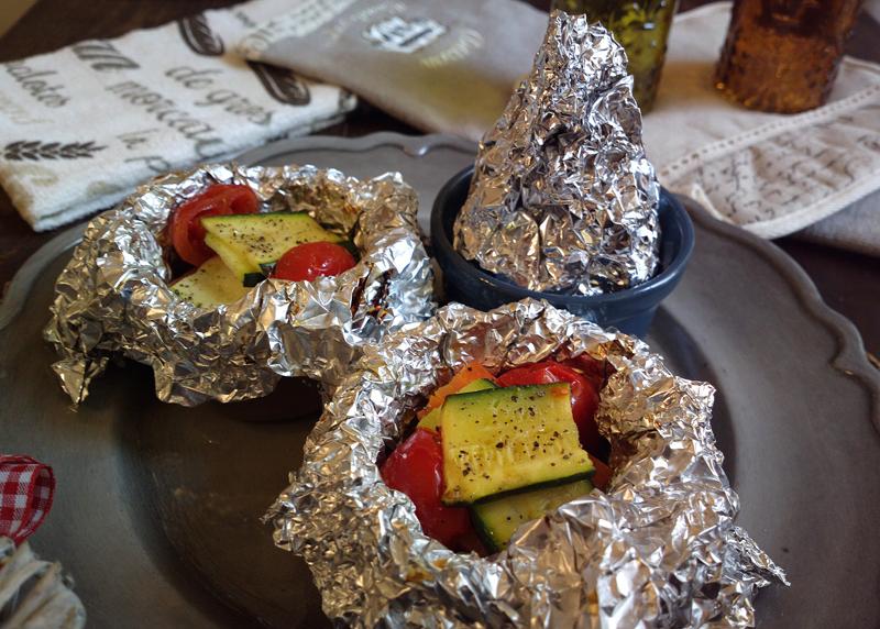 Cartoccio in cocotte - bocconcini di manzo e verdure