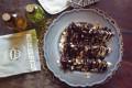 Insalata rustica di radicchio rosso, aceto balsamico e mandorle