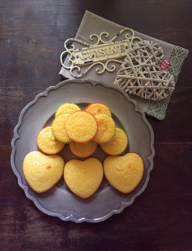 Corn muffins - Muffin alla farina di mais