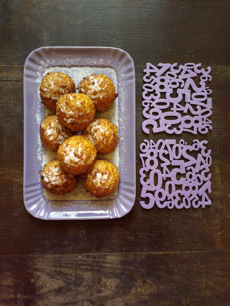 Frittelle di riso per Carnevale o per la festa del Papà - senza glutine