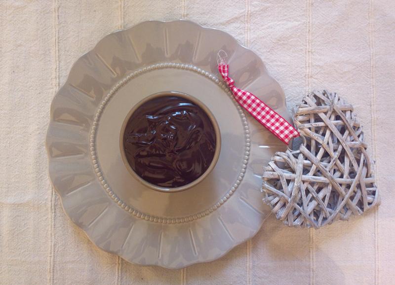 Ganache al cioccolato fondente - non amara