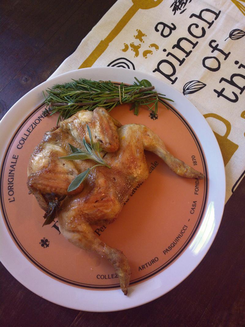 Pollo o galletto arrosto