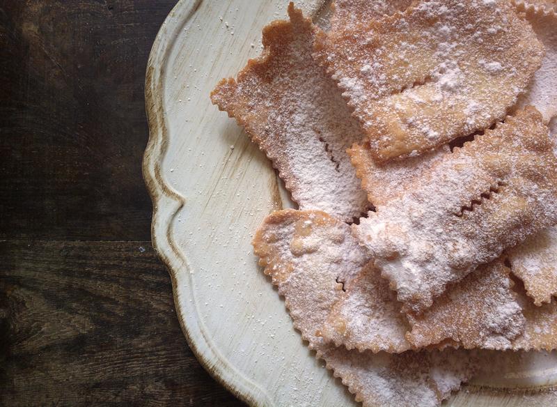Cenci o stracci - dolci toscani di carnevale