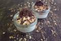 Mini Cheesecake frutta secca e avena - croccantissimi