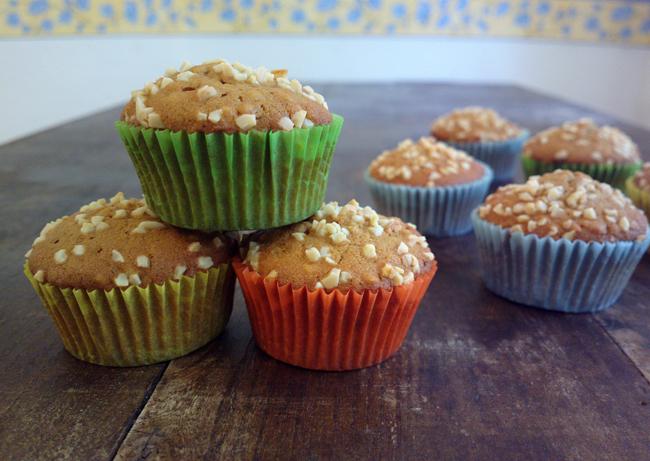 Muffin mandorle e zucchero muscodavo