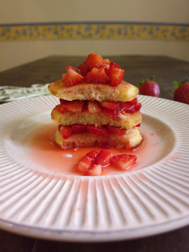 Pancakes alle fragole