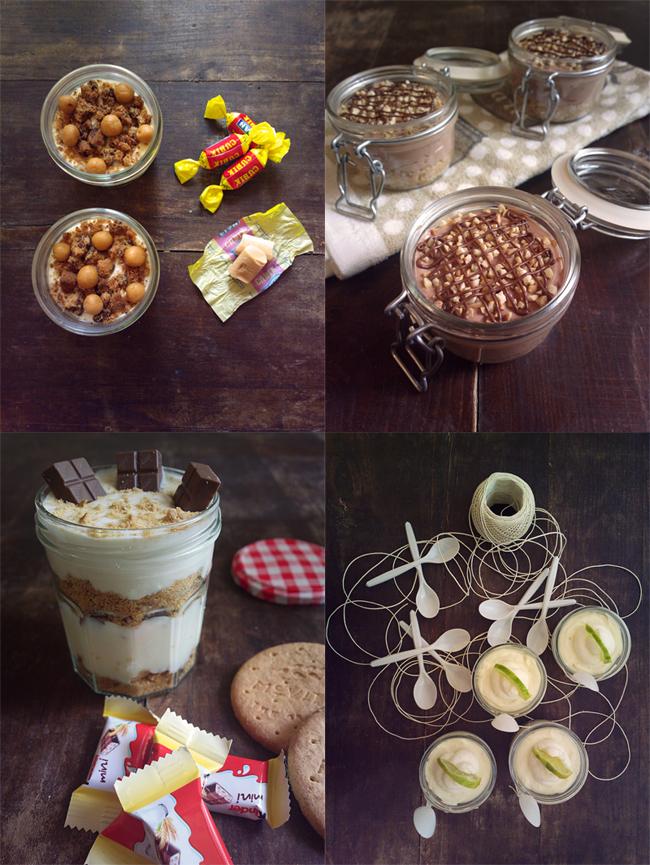 """In a jar - piccola raccolta di dolci """"in barattolo"""""""