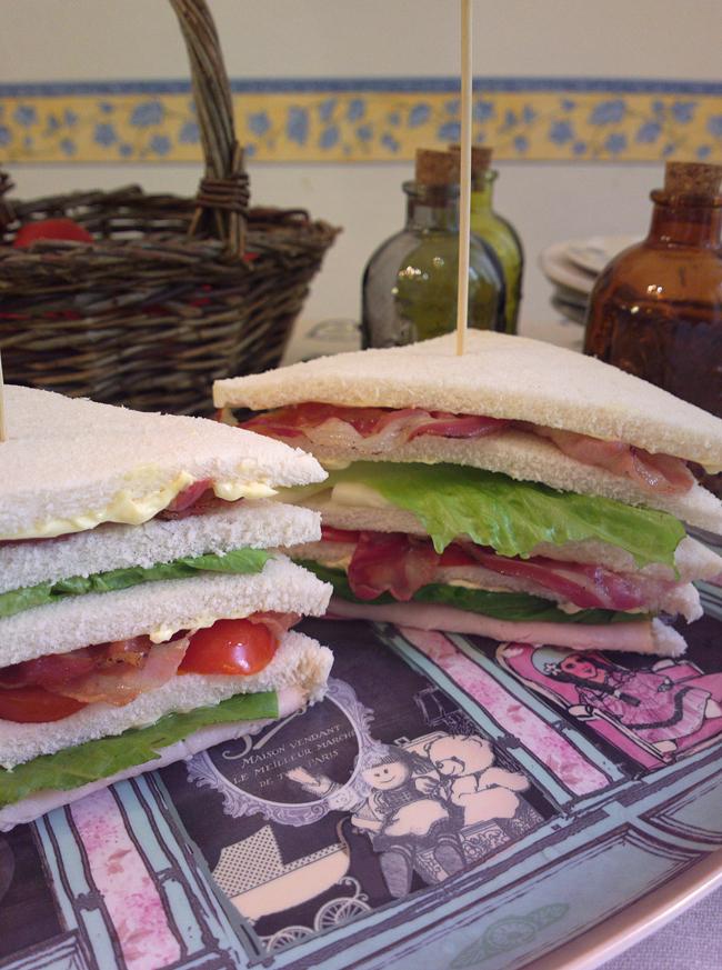 Club Sandwich a 5 strati - vi sfido a mangiarlo!!!!