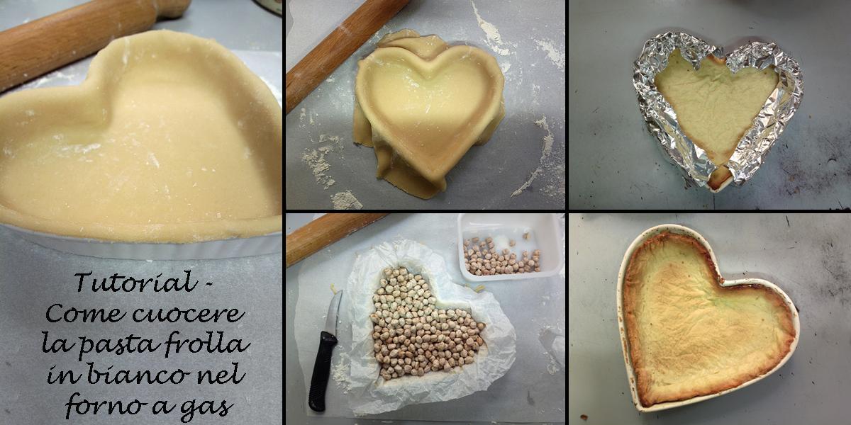 Tutorial - Come cuocere la pasta frolla in bianco nel forno a gas