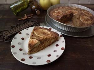 Torta di mele rustica e speziata - ricetta inglese