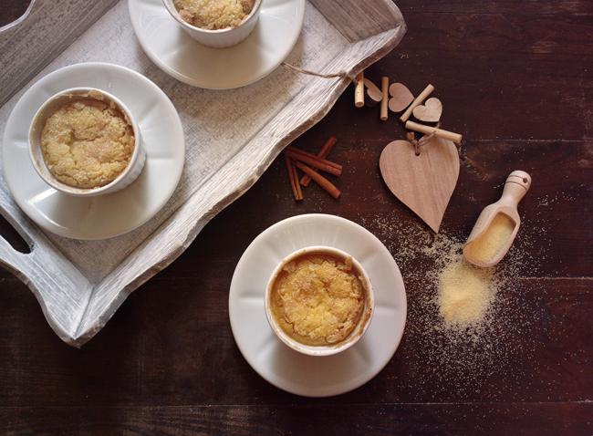 Cocottine dolci di semolino al forno1